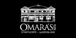 O'Mara's Hotel  Logo - Stanthorpe & Granite Belt Chamber of Commerce