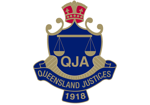 Queensland Justices Association Training Logo